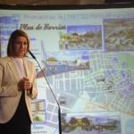 Cospedal en el Acto del Partido Popular con el Plan de Barrios para Almansa
